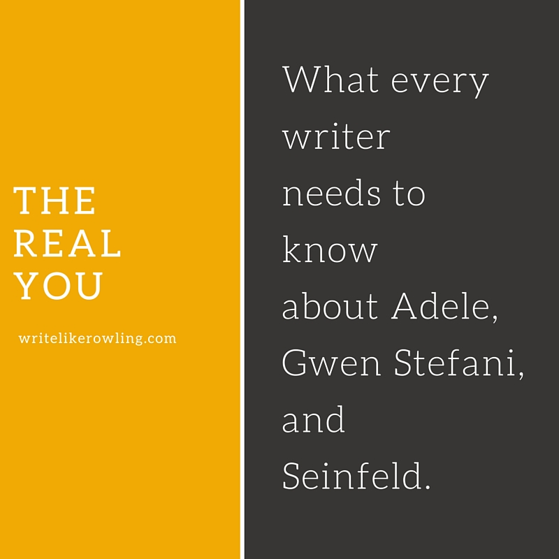 What every writer needs to know about Adele, Gwen Stefani, and Seinfeld